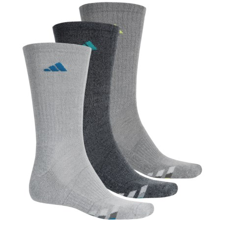 adidas outdoor ClimaCool® Cushioned Socks - 3 Pack, Crew (For Men)