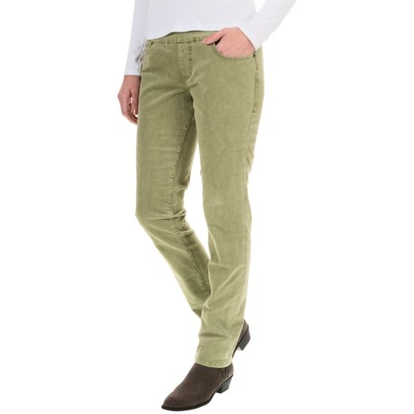 JAG Nora Corduroy Pants - High Rise, Skinny Fit (For Women)