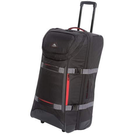 "High Sierra AT Lit Rolling Duffel Bag - 32"", Expandable"