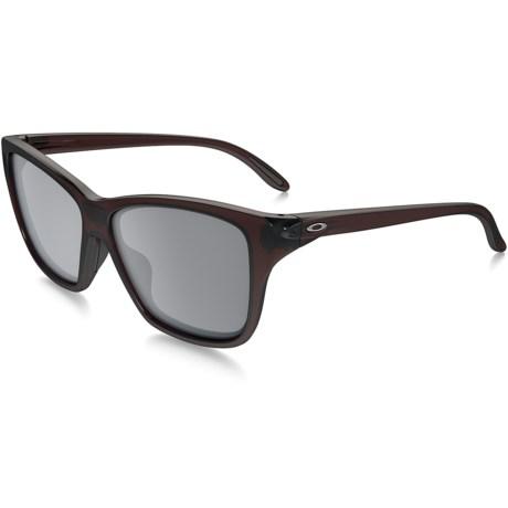 Oakley Hold On Sunglasses - Iridium® Lenses (For Women)