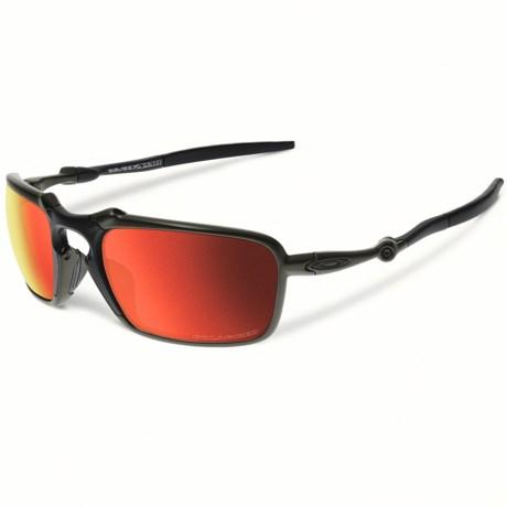 Oakley Badman Sunglasses - Polarized Iridium® Lenses