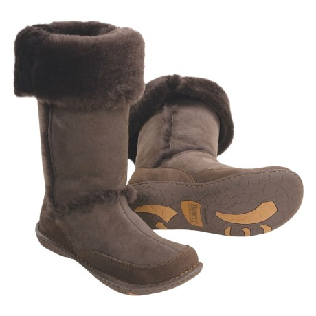 Born Shilo Tall Boots - Shearling Leather (For Women)