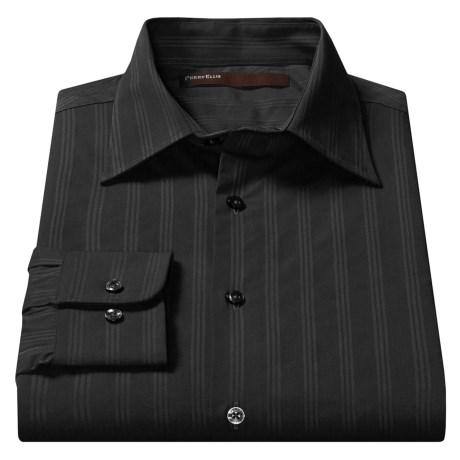 Perry Ellis Tonal Stripe Shirt - Long Sleeve (For Men)