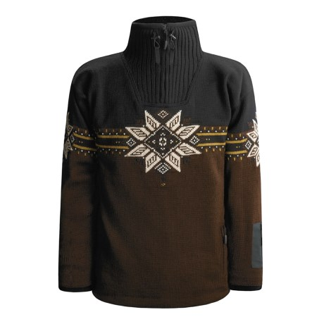 Dale of Norway Storetind Sweater - Wool, Zip Neck (For Men)