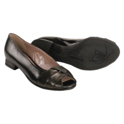 BeautiFeel Ivory Flats - Peep Toe (For Women)