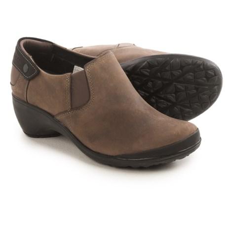 Merrell Veranda Moc Shoes - Leather, Slip-Ons (For Women)