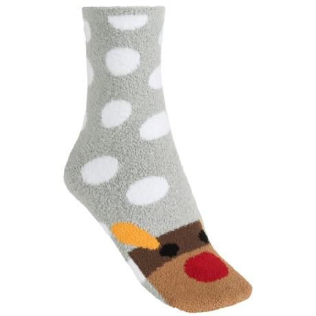 Apara Holiday Character Socks - Crew (For Women)