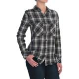 Seven7 Two-Pocket Plaid Shirt - Long Sleeve (For Women)