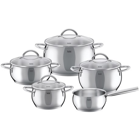 Silit Nobile Stainless Steel Induction Cookware Set - 9-Piece