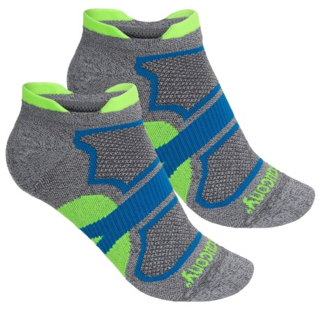 Saucony Dash Superlite Double-Tab Socks - 2-Pack, Below the Ankle (For Men and Women)