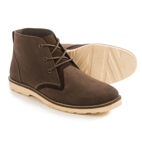 Crevo Cray Chukka Boots - Leather (For Men)