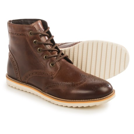Crevo Boardwalk Wingtip Boots - Leather (For Men)