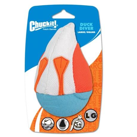 Chuckit! Amphibious Duck Diver Dog Toy