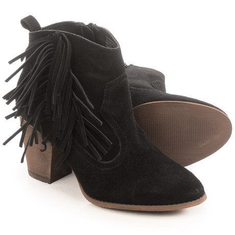 Restricted Neutron Ankle Boots - Suede (For Women)