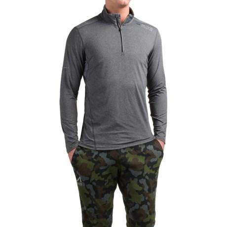 AL1VE Running Shirt - Zip Neck, Long Sleeve (For Men)