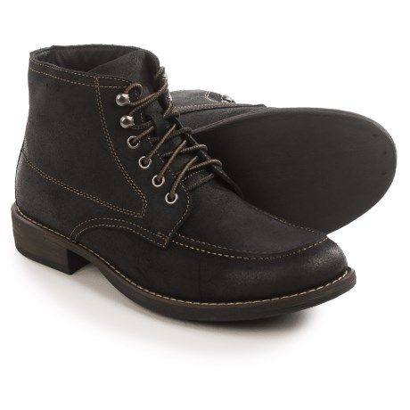 Eastland Brice Moc-Toe Boots - Suede (For Men)
