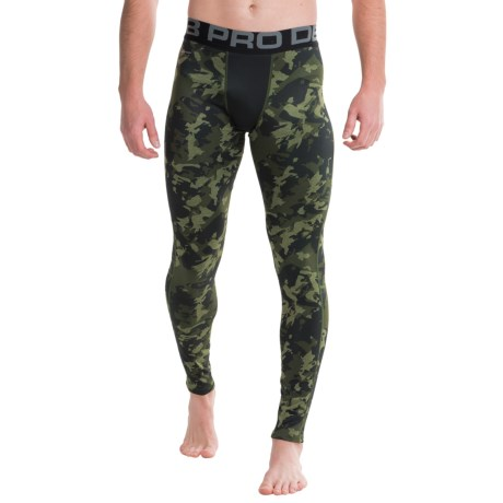 Layer 8 Cold Gear Printed Tights (For Men)