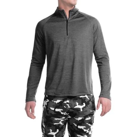 Layer 8 Performance-Layering Shirt - Zip Neck, Long Sleeve (For Men)