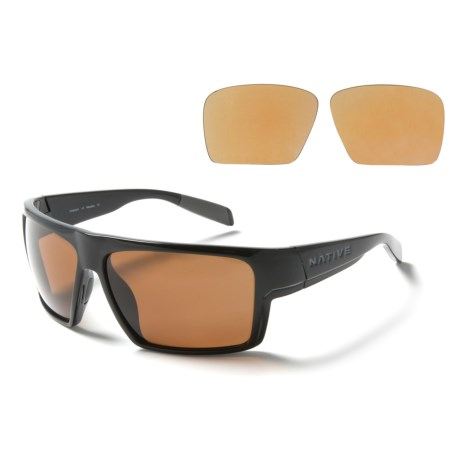 Native Eyewear Eldo Sunglasses - Polarized, Extra Lenses