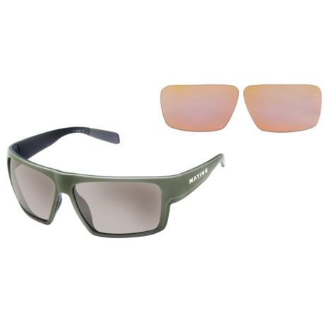 Native Eyewear Eldo Sunglasses - Polarized, Extra Lenses