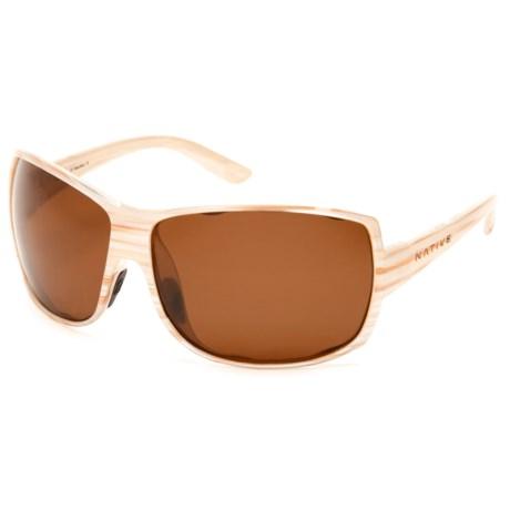 Native Eyewear Chonga Sunglasses - Polarized (For Women)