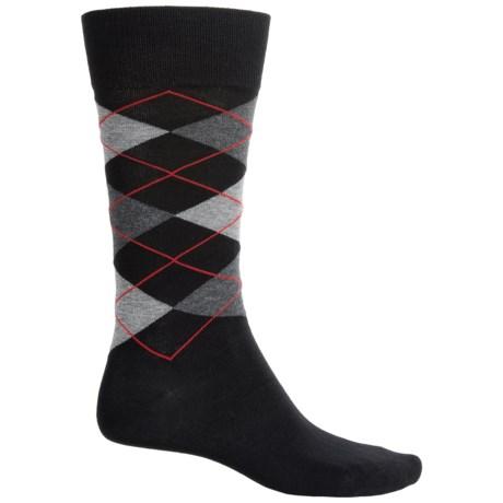 Bruno Magli Argyle Socks - Crew (For Men)