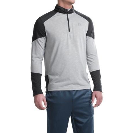 RBX Color-Block Shirt - Zip Neck, Long Sleeve (For Men)
