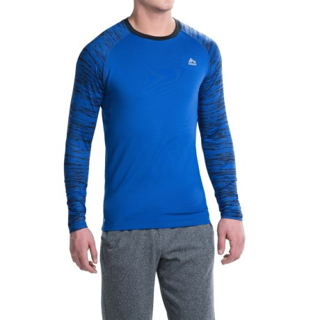 RBX Print Compression T-Shirt - Long Sleeve (For Men)