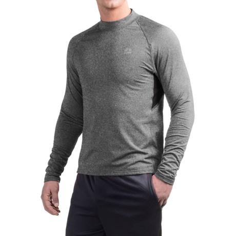 RBX Fleece-Lined Compression Shirt - Mock Neck, Long Sleeve (For Men)