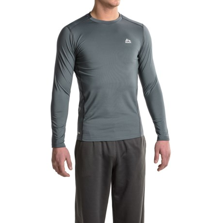RBX Fleece-Lined Compression Shirt - Long Sleeve (For Men)