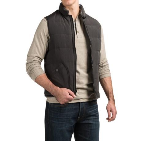 Jeremiah Aberdeen Vest - Reversible, Insulated (For Men)