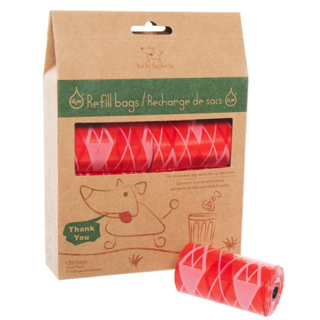 D2W d2w® Dog Waste Pick-Up Refill Bags - 120-Pack