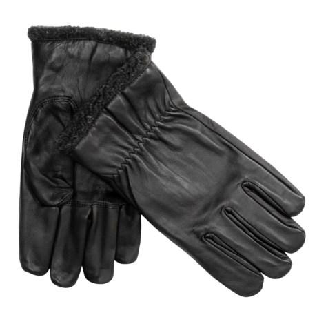 Cire by Grandoe Aviator Sheepskin Gloves - Fleece Lined (For Men)