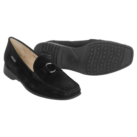 Mephisto Idelia Shoes - Suede Slip-Ons (For Women)