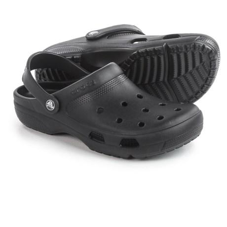 Crocs Coast Roomy Fit Clogs (For Men)