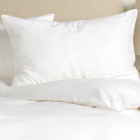 Barbara Barry Simplicity Stitch Pillow Sham - Queen, Cotton Percale