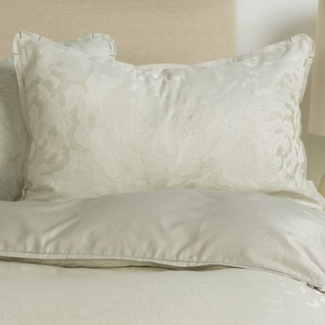 Barbara Barry Dream Petal Garden Pillow Sham - Queen, 300 TC Cotton