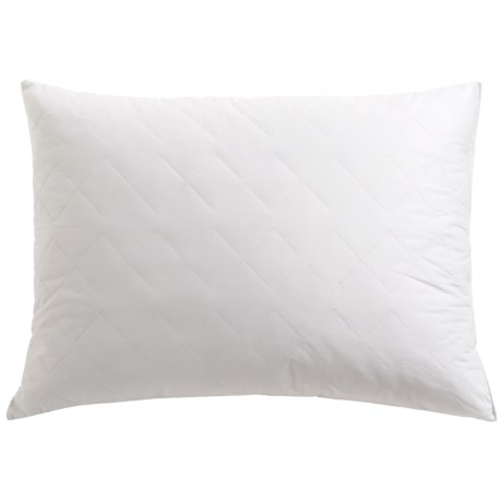Tahari Diamond Quilt Feather Pillow - Super Standard, 230 TC Cotton