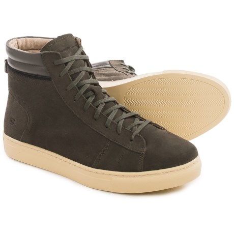 Andrew Marc Remsen High-Top Sneakers - Suede (For Men)