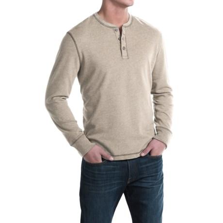 G.H. Bass & Co. Carbon Henley Shirt - Long Sleeve (For Men)