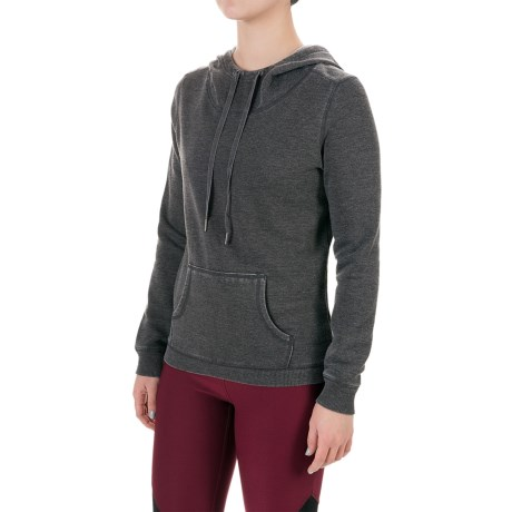 Steve Madden Tulip Back Fleece Hoodie (For Women)