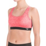 PONY Racerback Sports Bra - Removable Cups, Low Impact (For Women)