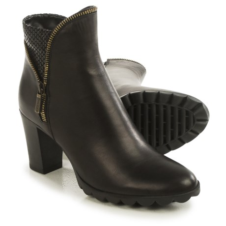 The Flexx Dip Body Ankle Boots - Leather (For Women)