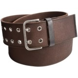 1816 by Remington Upland Belt - Canvas-Leather (For Men)