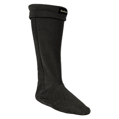 Barbour Fleece Wellington Boot Socks - Over the Calf (For Men)