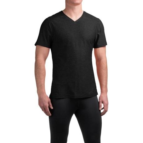 Manduka Minimalist T-Shirt - V-Neck, Short Sleeve (For Men)
