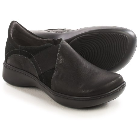 Naot Atlantic Leather and Suede Shoes - Slip-Ons (For Women)