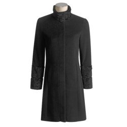 Trilogi Wool-Angora Coat (For Women)