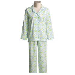 Needham Lane Flannel Pajamas - Cotton, Long Sleeve (For Women)