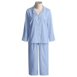 Needham Lane Flannel Pajamas - Cotton, Long Sleeve (For Women)